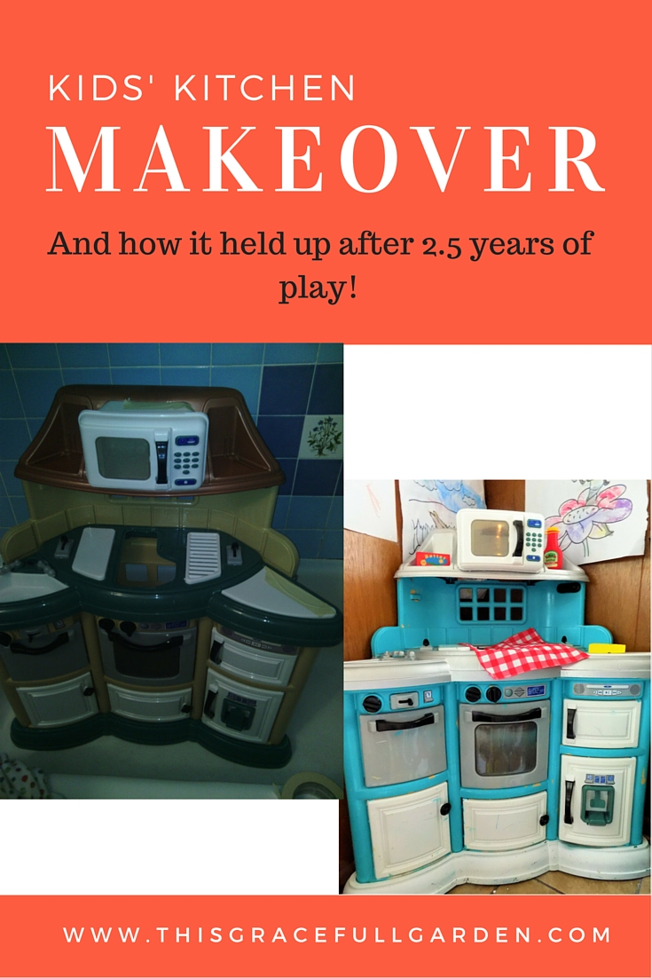 kid kitchen makeover